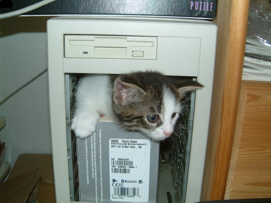 Zepsuty komputer i jego naprawa