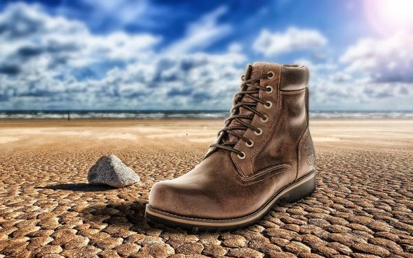 Skórzane buty korekcyjne